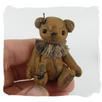 leather miniature bear